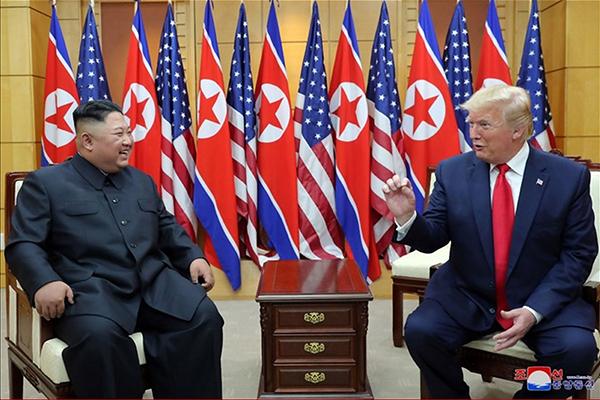 Президент США надеется на скорую встречу с лидером КНДР