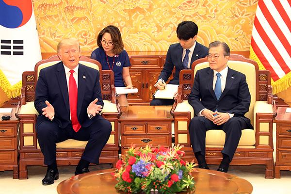 Госдепартамент: Президенты РК и США подтвердили приверженность двустороннему альянсу и денуклеаризации Корейского полуострова