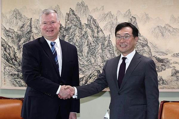 Atomunterhändler Südkoreas und der USA sprechen in Europa über Nordkorea