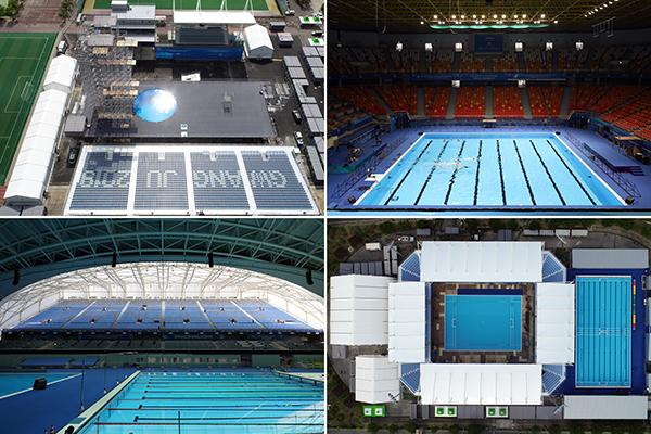 Championnats du monde de natation : 5 128 nageurs vont s'affronter à Gwangju