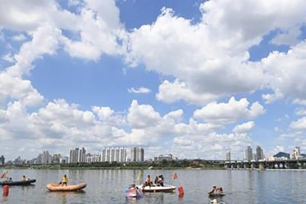 إقامة مهرجان الصيف في نهر هان  لعام 2019