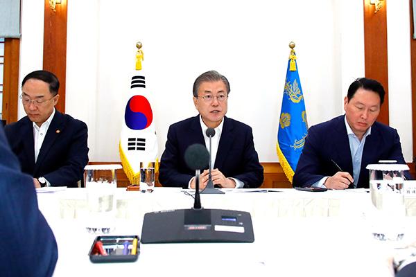 Moon urge a Japón a sumarse a Seúl para lograr una solución diplomática
