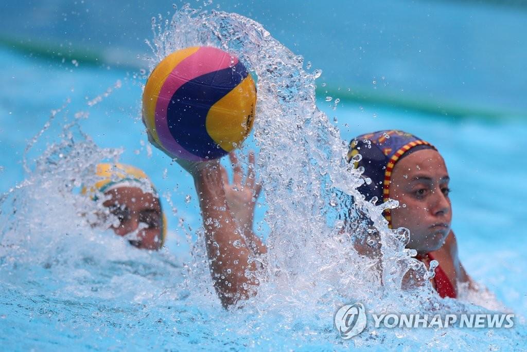 -광주세계수영- 여자 수구 역사적 첫 경기…헝가리에 0-64 완패