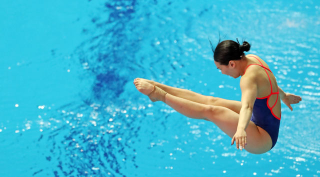 Kim Su-ji Becomes First S. Korean Diver To Win Medal at World Championships