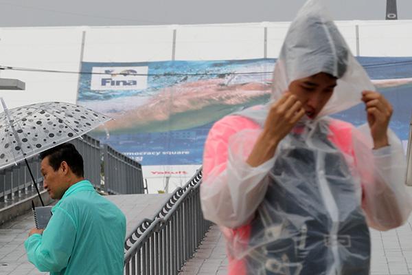 Lluvias persistentes en la zona sur y calor en el área capitalina