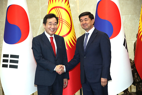 كوريا وقيرغيزستان تتفقان على تعزيز التعاون الثنائي