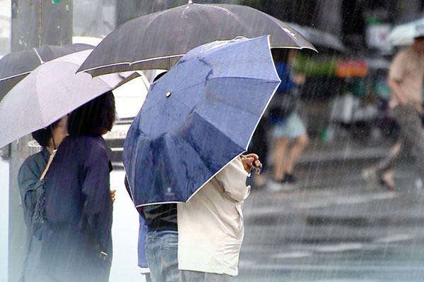 أمطار غزيرة في الأجزاء الجنوبية من البلاد