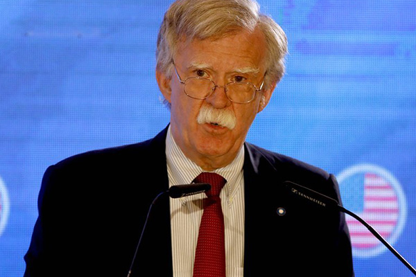 US Security Adviser John Bolton Departs for S. Korea, Japan Amid Trade Row