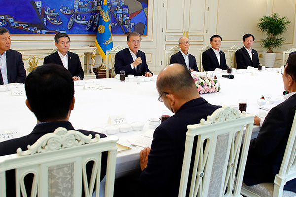 Moon Feels Responsibility for Security Lapses in Border-Crossing Incident