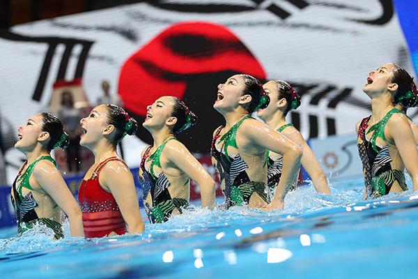 Mondiaux de natation : la Corée du Sud accède à la finale du combiné libre de natation artistique