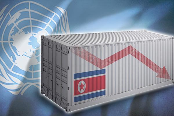 Le commerce extérieur nord-coréen divisé de moitié