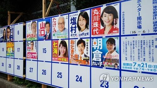 Japan's Upper House Election Begins Sunday