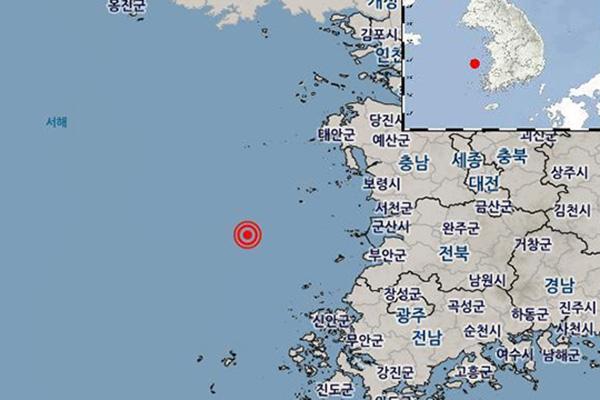 Động đất 3,9 độ richter ở thành phố Sangju