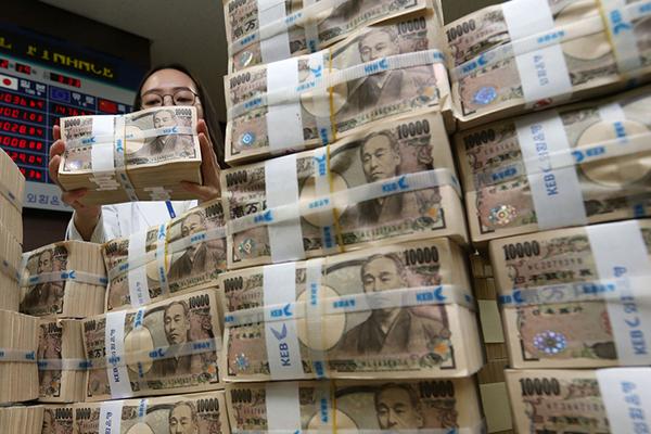 Entidades financieras surcoreanas acumulan 17 billones de wones de deuda con Japón