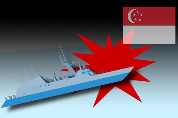一艘韩国货船在新加坡海域遭海盗袭击