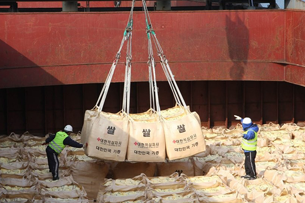 Some in N. Korea Apparently Seeking to Reject S. Korea's Rice Aid