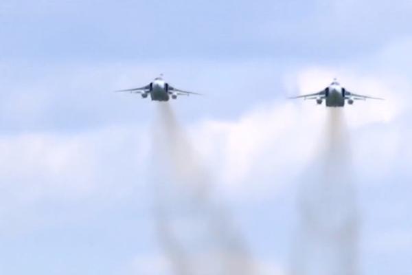 俄军机两次侵入韩国独岛领空 韩战机开火示警