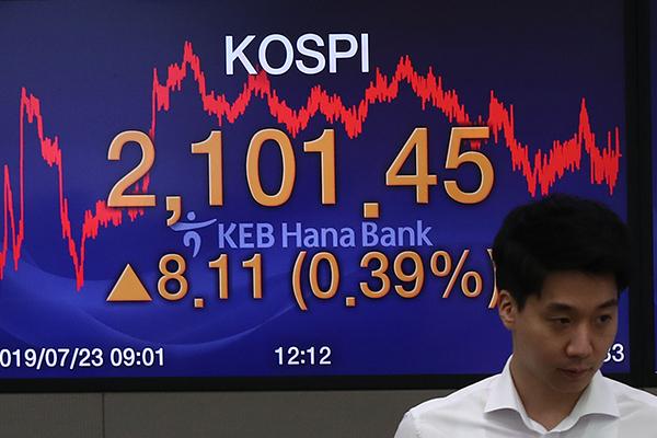 Südkoreas Börse schließt fester