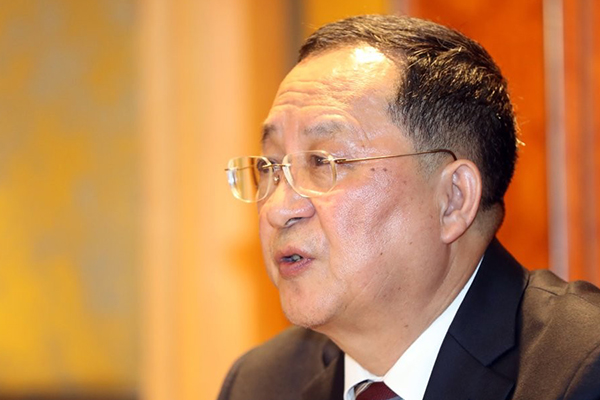 Korut Umumkan Kehadiran Menlu Ri Yong-ho dalam Sidang Umum PBB