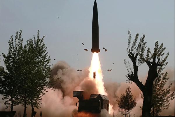 """합참 """"북한 발사체 단거리 미사일로 평가"""""""