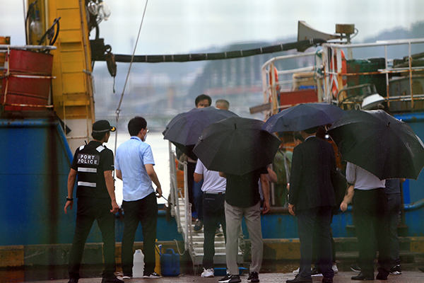 Liberan a la tripulación del barco ruso detenido en Corea del Norte