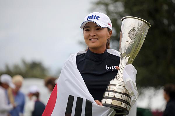 Golferin Ko Jin-young wieder Weltspitze