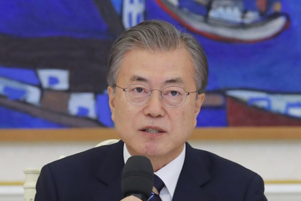 Moon Addresses Trade Row at Emergency Cabinet Meeting