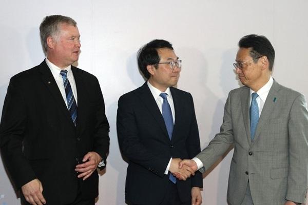 Nuklearunterhändler Südkoreas, der USA und Japans führen Gespräche in Bangkok
