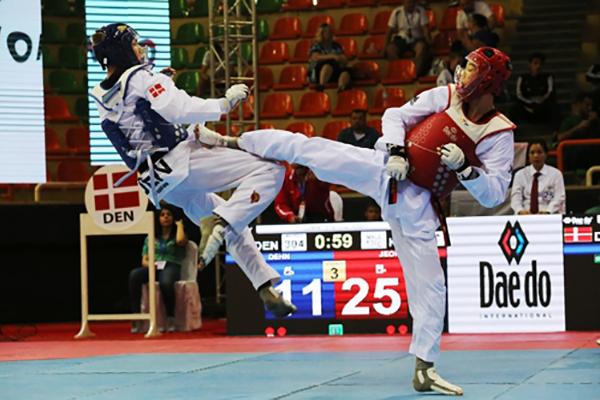 世界少年跆拳道锦标赛7日在塔什干开幕