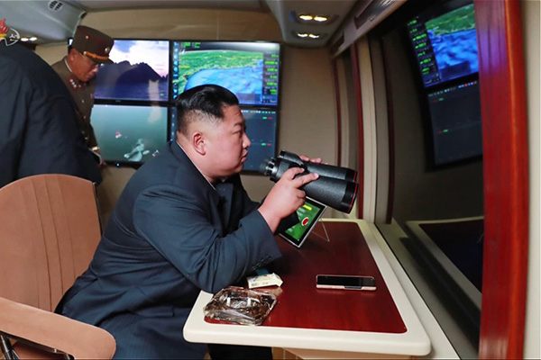 KCNA: Missile Launches 'Adequate Warning' Against S. Korea-US Drills