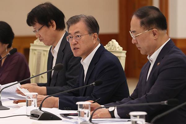 文在寅:日本对韩出口限制自相矛盾