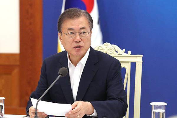 Moon califica de contradictorias las restricciones a la exportación de Japón