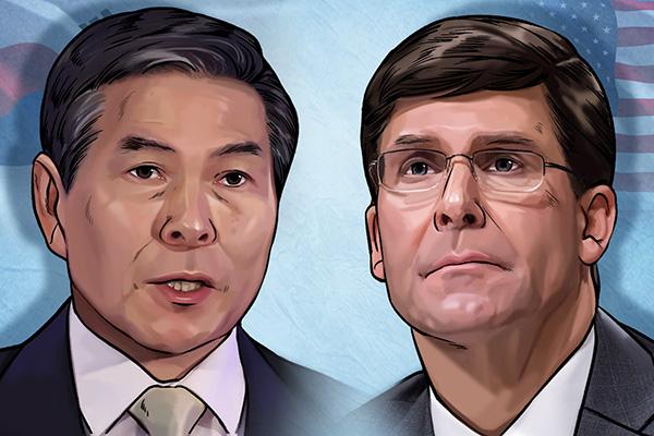 韩美防长9日举行会谈 商定为维护韩半岛和平做后盾
