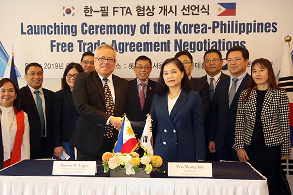 Südkorea und Philippinen beginnen dritte Runde von Freihandelsgesprächen