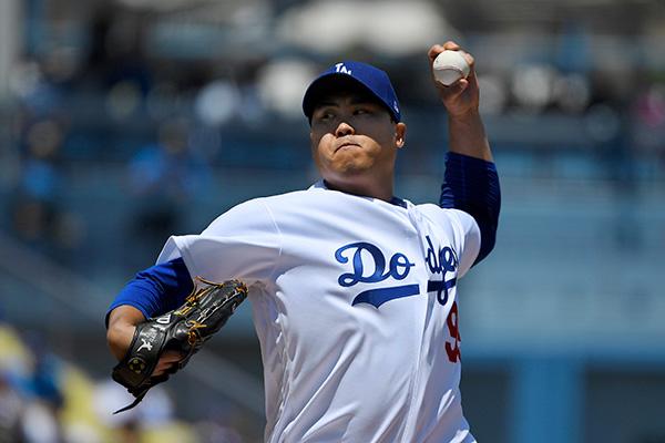 Dodgers' Ryu Hyun-jin Earns 12th Win of Season