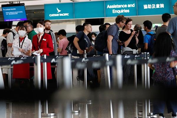 Nối lại hoạt động hàng không tới Hồng Kông