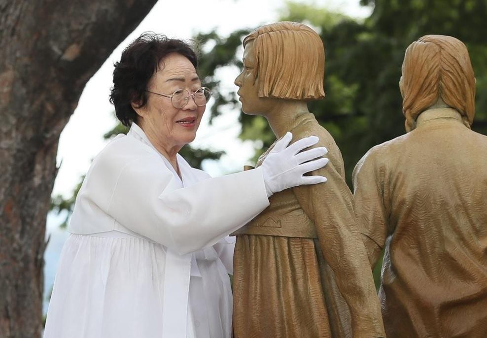 'Comfort Women' Statue Unveiled on Seoul's Namsan Mountain