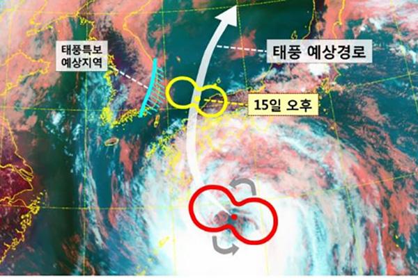 태풍 '크로사' 국내 영향 커질 듯…동해안 최고 300mm 폭우