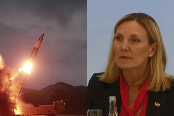 الولايات المتحدة قلقة من تطوير الصواريخ الكورية الشمالية