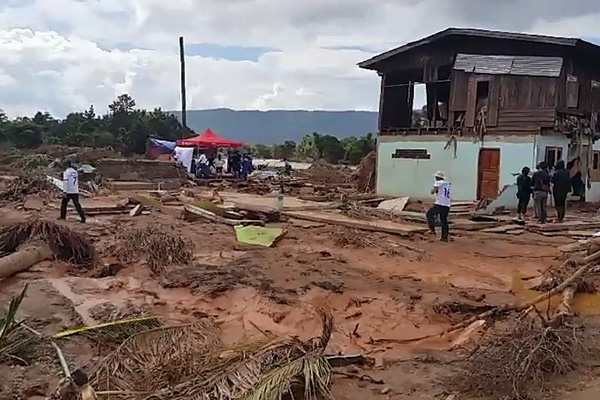 ラオスのダム決壊地復旧に1150万ドル支援 韓国政府