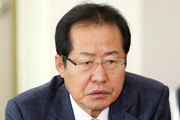 """홍준표 """"친북 좌파 집권, 경제·안보·외교 위태"""""""