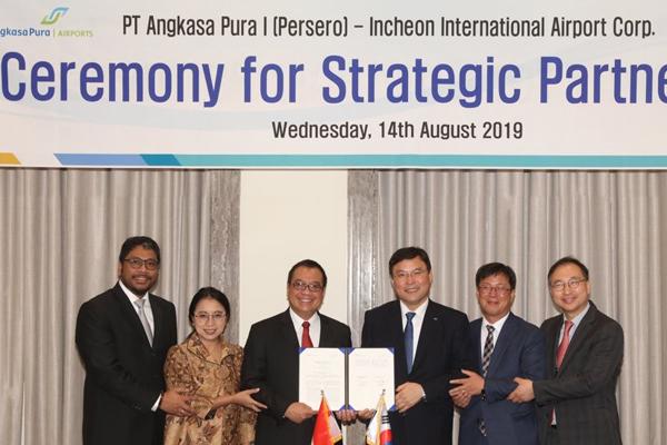 인천공항공사, 인도네시아 제1공항공사와 파트너십 체결
