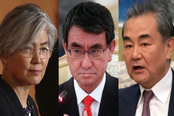 Les ministres des Affaires étrangères sud-coréen, chinois et japonais se retrouvent la semaine prochaine à Pékin