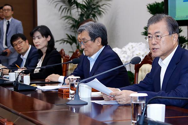 Moon Jae-in souligne la nécessité de saisir l'opportunité de dialogue entre les deux Corées et les USA