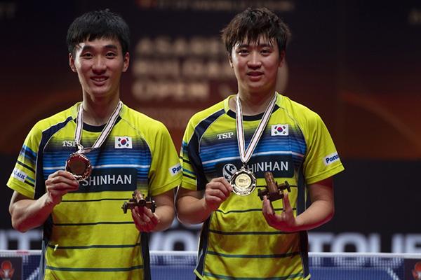 Tischtennis-Duo Lee/Jeoung siegt bei Bulgaria Open