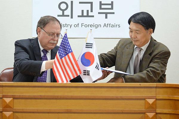 Verhandlungsführer Südkoreas und der USA für Aufteilung von Verteidigungskosten kommen zusammen