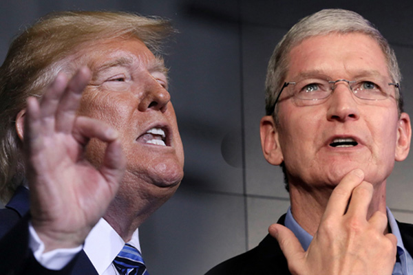Trump Says He Spoke With Apple CEO Over China Tariffs, Samsung Competition