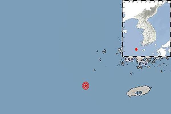 전남 신안군 남서쪽 먼 해역서 규모 2.8 지진…