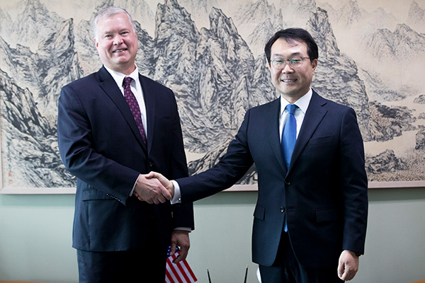Washington zeigt sich zu jederzeitigen Arbeitsgesprächen mit Nordkorea bereit