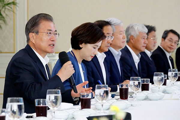 Moon Vows Support for University R&D of Materials and Components